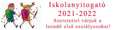 Iskola nyitogató 2021